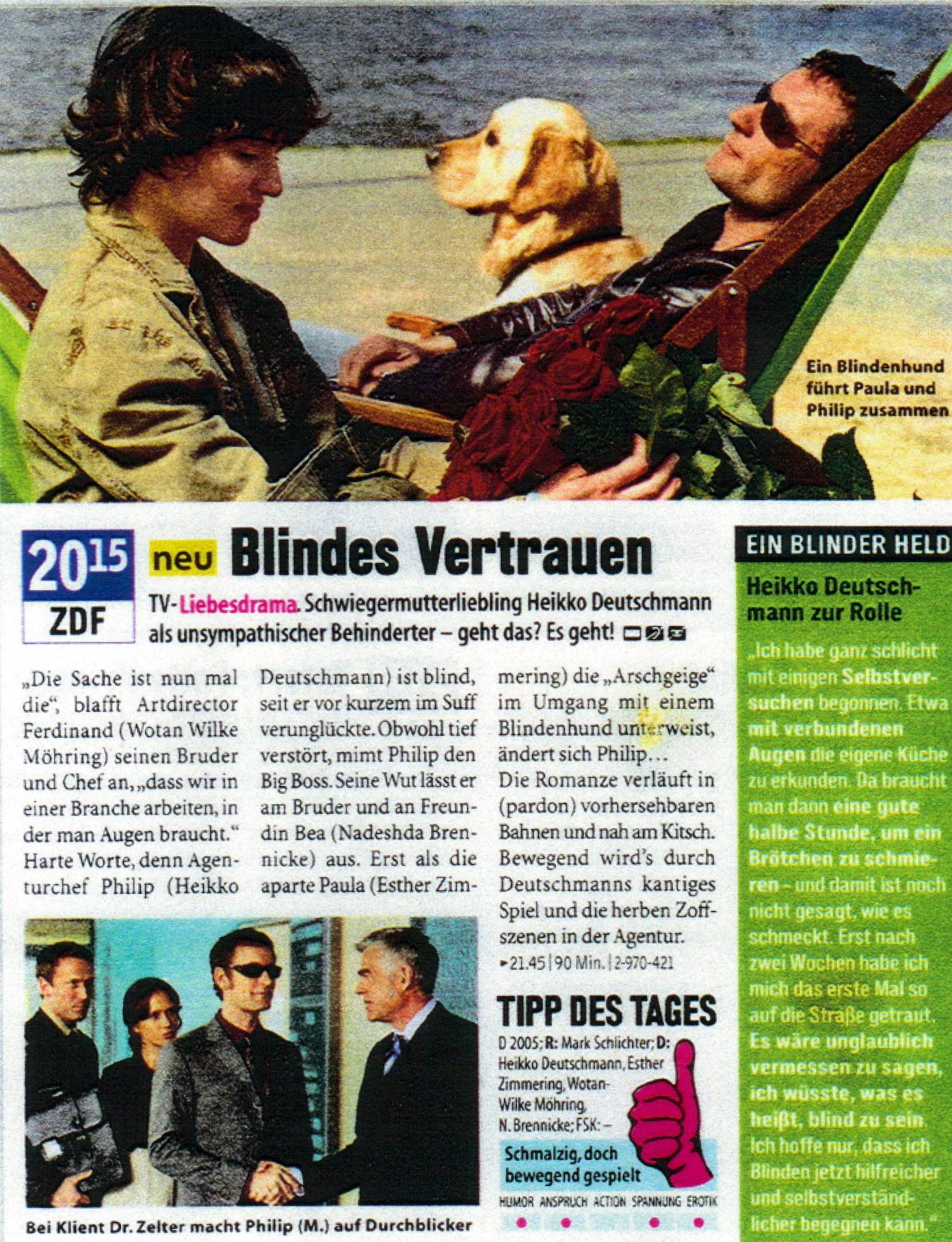 Blindes Vertrauen Film